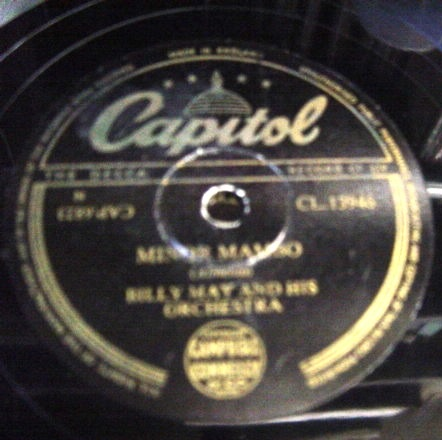 Billy May - Minor Mambo - Capitol CL 13946